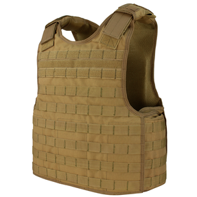 Condor DFPC Defender Plate Carrier, Adjustable Shoulder Straps, Side Plate Compatible, available in Black, Olive Drab, and Coyote Brown