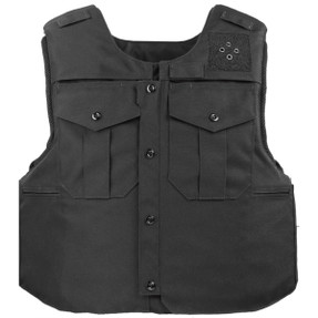 Armor Express ® Traverse Men's Dress  Overt Ballistic Body Armor Patrol Carrier, Front Zipper Side Opening,  Optional MOLLE Configuration, Choose Carrier or Carrier and Panels (Soft Armor), NIJ Certified - Level 2, or Level 3A Threat Level