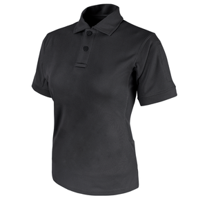 Condor Outdoor 101194 Women's Performance Polo, Sunglasses clip, 100% Polyester, available in Black and Navy