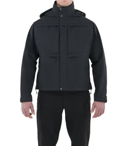 First Tactical 118502 Mens Tactix System Waterproof Jacket, 100% Nylon, Breathable, Adjustable Cuffs, Regular Length, available in Black and Midnight Navy