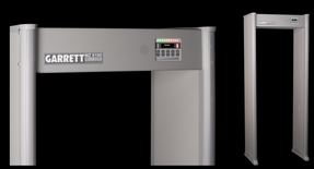 Garrett MZ-6100™ Walk-Through Metal Detector, 1171000 30 inch width or 1171005 32.5 inch width, with Auto-Scan Function