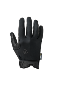 First Tactical 150001 Men's Lightweight Patrol Glove, adjustable wrist cuff, Black