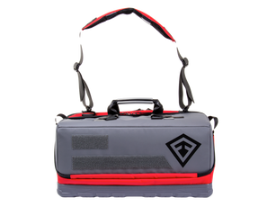 First Tactical 180039 Medium Jump EMS Bag, available in Red and Hi-Viz Yellow