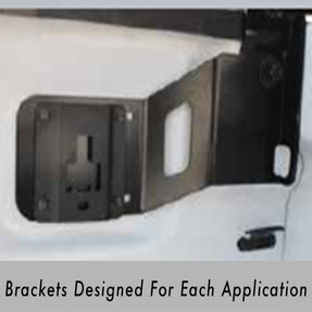 Westin HLR Pickup Truck Headache Rack 57-81035, Ford F-150 2015-2020, High visibility with 78% open Aluminum Punch Plate Screen, Optional Adjustable Tie Downs, Easy Installation, No drilling required.