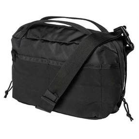 5.11 Tactical 56521 EMERGENCY READY BAG 6L, Removable Shoulder and Waist Strap, Interior Dividers, Pockets, center zip pocket and elastic retention bands, available in Black, Python and  Night Watch