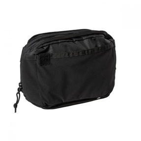 5.11 Tactical 56552 EMERGENCY READY POUCH 3L, Stowable Shoulder/Waist Strap, Interior Dividers, Pockets, center zip pocket and elastic retention bands, available in Black, Python and  Night Watch