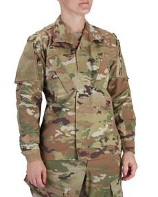 Propper® F5419 Women's ACU Coat, Uniform, 2 Chest Pockets, nylon/cotton, Camo