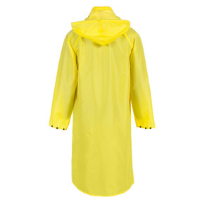Neese 475CH 48 inch Uniform Long Coat Polyurethane/Nylon, Detachable Hood, Badge Tab, available in Yellow, Black, Orange, Green, and Hi-Vis Lime