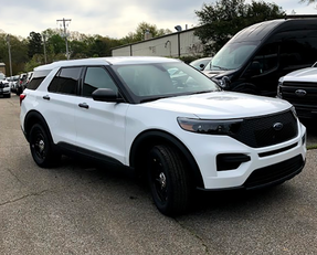 New 2020 Ford (Explorer) Police Interceptor PI Utility V6 Gas Engine AWD For Sale, White, Ready to be Built as a Slick-Top Admin Pkg, Turnkey FPIU + Delivery