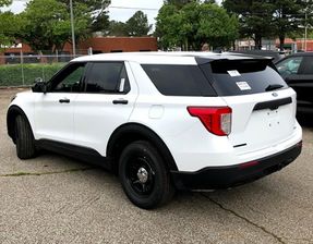 New 2020 White Ford (Explorer) Police Interceptor PI Utility V6 Gas Engine AWD For Sale, Ready to be Built as a Marked Patrol Turnkey, + Delivery