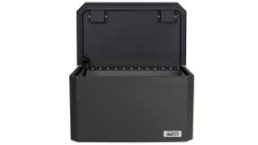 BOSS StrongBox 7416 Universal Vehicle Storage and Organizer Unit Box, Top Loader for gear and equipment, 26.5x16x14, includes foam lining