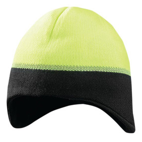 Occunomix LUX-EWRB Ear Warming Reflective Beanie, available in Gray, Orange and Yellow