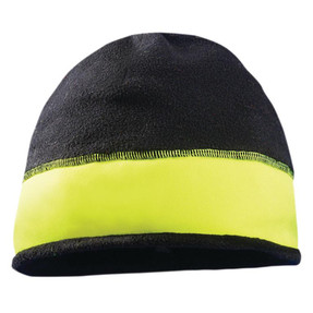 Occunomix LUX-RFB Reversible Fleece Beanie, available in Gray  and Yellow