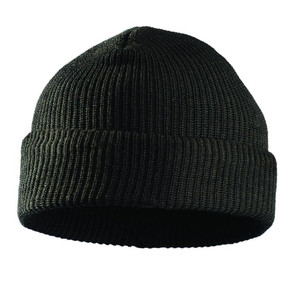 Occunomix 1079-068 Classic Flame Resistant Rib Knit Cap, Black