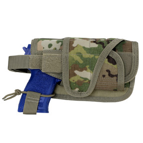 Condor Outdoor MA68-800 HT Holster, Wrap-around design to fit a variety of pistols, Scorpion OCP Pattern
