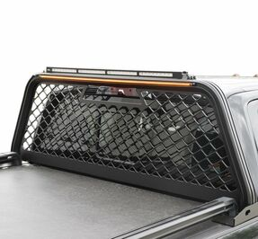 Putco Truck Headache Boss Rack, Ford Super Duty (2017-2019), Black or Gray, No Drilling Required