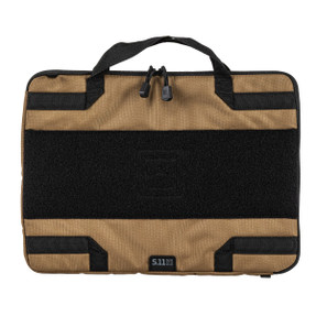 5.11 Tactical 56580 Rapid Laptop Case, 100% Polyester, available in Kangaroo Brown and Coal Grey