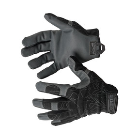 5.11 Tactical 59371 High Abrasion Tac Glove, Uniform or Casual, Adjustable Wrist Cuffs, available in Black, Ranger Green, Kangaroo Brown