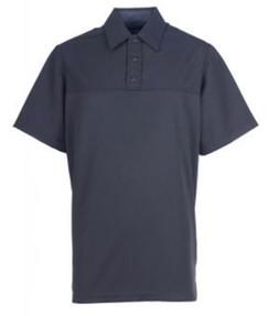 Spiewak SBLPP30 Professional Poly Short-Sleeve Base Layer Men's Polo, Uniform, Dark Navy Blue
