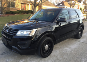 Used 2017 Black Ford (Explorer) Police Interceptor Utility for sale, Ready to be built as a Marked Patrol, All-Wheel Drive V6, + Delivery, 65,000 miles on it