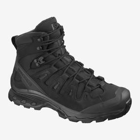 Salomon L40723200 Quest 4D GTX Forces 2 EN Unisex 6 inch Boots, Uniform or Casual, Waterproof, available in Ranger Green, Slate Black, Black