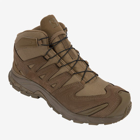Salomon L40978200 XA Forces MID Unisex 5 inch Boots, Uniform or Casual, Lightweight, Coyote Brown