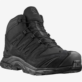 Salomon L40978100 XA Forces MID EN Unisex 5 inch Boots, Uniform or Casual, Lightweight, available in Black and Ranger Green