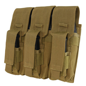 Condor Outdoor MA72 Triple AK Kangaroo Pouch, available in Black, Coyote Brown, and Olive Drab Green