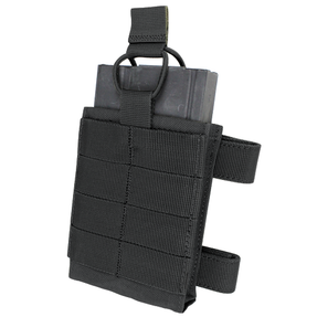 Condor Outdoor MA76 Tac Tile Magazine Pouch, Two 4 inch MOD straps included, available in Black, Tan Brown, and Olive Drab Green
