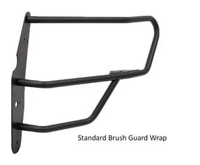 GO RHINO Dodge Charger 2015-2020 Push Bumper, 5000 Series, Optional Brush Guard Wrap, Steel, choose Texture or Gloss