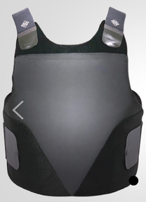 Slate Solutions SS GEN II Concealable Vest and Ballistic Panels (2 carriers, 1 5x8 Soft Trauma Pack), 2-203-525, Threat Level 2, SLXII