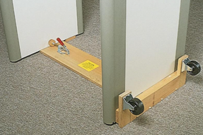 Garrett 1168000 Removable Magna Dolly for PD-6500i, removable wheel assembly for easy portability, 30 inch width only