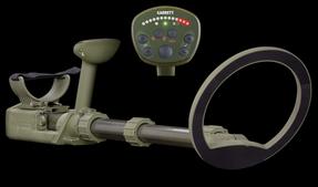 Garrett RECON-PRO AML-1000/C (All Metals Locator), Mine / ERW Detector, Waterproof, 1220002, 20cm open coil search head,carry bag, tactical headset, alkaline batteries, field guide