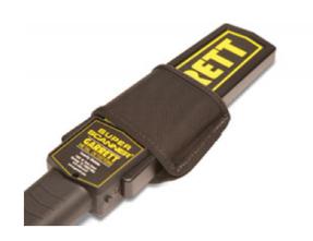 Garrett 1611600 Belt Holder for Super Scanner V Hand-Held Metal Detectors, Can be worn on a belt or can be mounted in a car