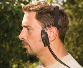 Garrett 1624500 Tactical Headset, Waterproof to 3 Meters, Low-Profile, for Mine/ERW Detetctors