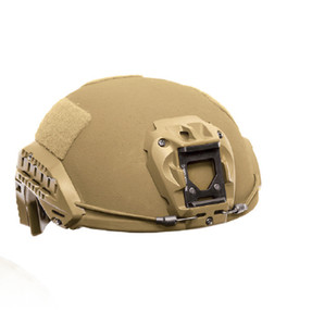 Avon Protection F70 Bullet Proof Helmet for Police and Military, NIJ Certified Level IIIA, Utilizes D30® Trust™ Pad System, Rails and NVG shroud included, High Cut or Mid Cut, Optional Ballistic Visor and Mandible