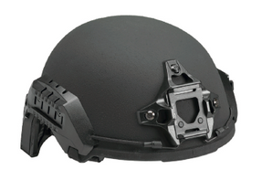 Avon Protection Ultra Light Weight Bullet Proof Bump Helmet for Police and Military, NIJ Certified Level IIIA, Utilizes D30® Trust™ Pad System, Includes Rails, NVG Shroud, Bungee Cords and Exterior Velcro Set