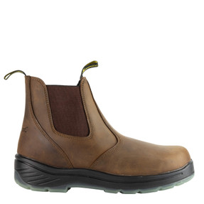 Thorogood® Model 804-3166 THORO-FLEX SERIES Boots – 6″ Trail Crazyhorse Composite Safety Toe, Quick Release Pull-on with Translucent Bottom.