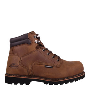Thorogood® 804-3236 V-Series Waterproof  6″ Boots,  Crazyhorse Leather Upper, Composite Safety Toe