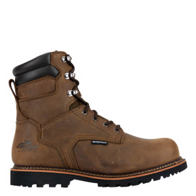 Thorogood® 804-3237 V-Series Waterproof  8″ Boots,  Crazyhorse Leather Upper, Composite Safety Toe