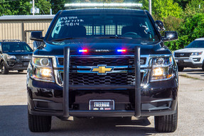 New 2020 Black Tahoe 4x4 PPV V8, ready to be built as a Marked Patrol Package, choose any color LEDs, 4WD, + Delivery