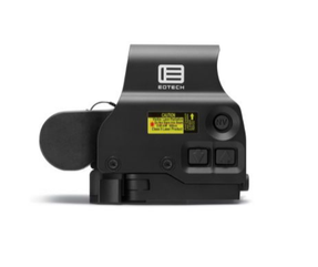 EOTech EXPS3-0 NIGHT VISION Compatible Holographic Weapon Sight, Single CR123 battery; reticle pattern with 68 MOA ring & 1 MOA dot - side buttons-NV-single QD lever