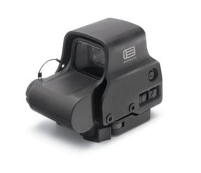 EOTech EXPS3-2 NIGHT VISION Compatible Holographic Weapon Sight, Single CR123 battery; reticle pattern with 68 MOA ring & 2 MOA dots - side buttons-NV-single QD lever