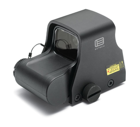 EOTech XPS3-0 NIGHT VISION Compatible Holographic Weapon Sight, Single CR123 battery; reticle pattern with 68 MOA ring & 1 MOA dot