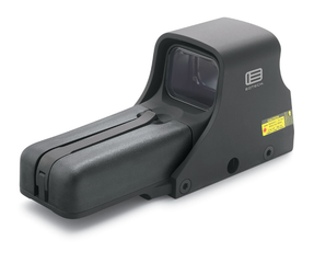 EOTech 552.A65 NIGHT VISION Compatible Holographic Weapon Sight, AA battery; reticle pattern with 68 MOA ring & 1 MOA dot