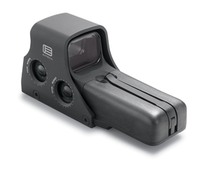 EOTech 512.A65 Holographic Weapon Sight, AA battery; reticle pattern with 68 MOA ring & 1 MOA dot