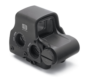 EOTech EXPS2-0 Holographic Weapon Sight, Single CR123 battery; reticle pattern with 68 MOA ring & 1 MOA dot - side buttons- single QD lever