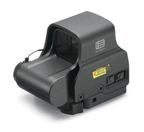 EOTech EXPS2-2 Holographic Weapon Sight, Single CR123 battery; reticle pattern with 68 MOA ring & 2 MOA dots - side buttons- single QD lever