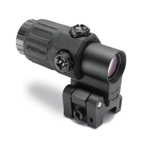 EOTech G33.STS Black Holographic Weapon Sight MAGNIFIER, 3 power magnifier with quick disconnect, with side to side (STS) mount