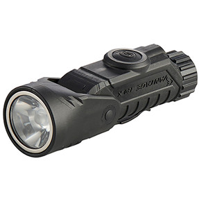 Streamlight 88903 Vantage 180 X - includes two CR123A lithium batteries helmet bracket - Box - Black